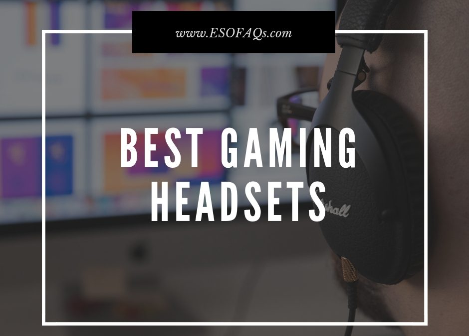 Why You Need a Gaming Headset (with mic)