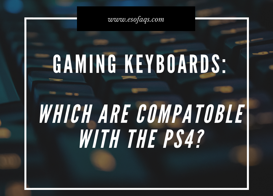 Which Keyboards are Compatible with the PS4