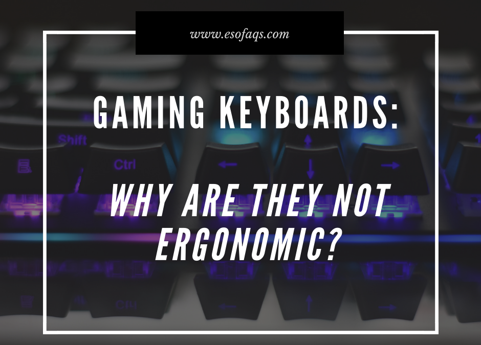 Ergonomic or Ordinary Keyboards for your Gaming Keyboard Needs